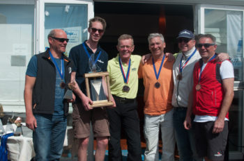 3. Platz: Bernd Nawrata (S4o) - Christian Pronay (S4o) / sail4one-racing II / Pflege-daheim Christoph Scholz (S4o), Markus Oberbichler (S4o), Anton Skalnik (S4o), Gerhard Wörndl (S4o)