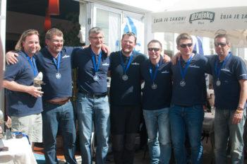 2. Platz: Christian Pfann (S4o) - Berndt Schweiger (S4o) / sail4one-racing I / Meller Textildruck Günter Korn (S4o), Roland Schweiger (S4o), Alex Wipplinger (S4o), Wolfgang Stumberger (S4o), Clemens Seidl (S4o)