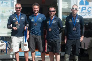 3. Platz: Gerald Gaugusch (KYC) - Claus Chabina (KYC) / Plan B Michael Schwager (KYC), Manuel Svejnoha (KYC), Michael Bendekovics (KYC), Hubert Scheibelmasser (KYC)