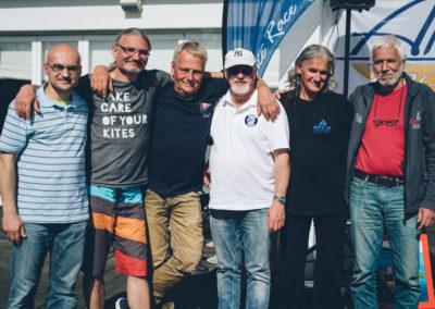 Gerhard Bobr (UYCNf) - Marek Bis (BYC) Karl Plachwits, Manfred Böhmer, Wolfgang Schulze, Ralph Janik