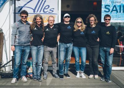 Franz Fasching (IG Segeln) - Robert Gatter (IG Segeln) / Team Lissa Petra Klampfl, Oliver Weinert, Johanna Hofmann, Eva Rechberg, Thomas Warwaris (IGS)