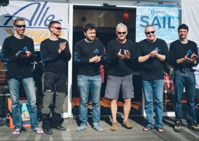 Alexey Bondarenko (Oreshka club) - Andrey Raykov / enJoinSailing / FONDY Oleg Smirnov, Artemiy Lavrinets, Pavel Yaroshenko, Timur Khanipov